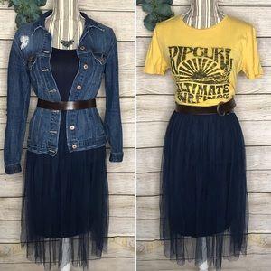 Jersey Cotton & Tulle Sundress 🌞